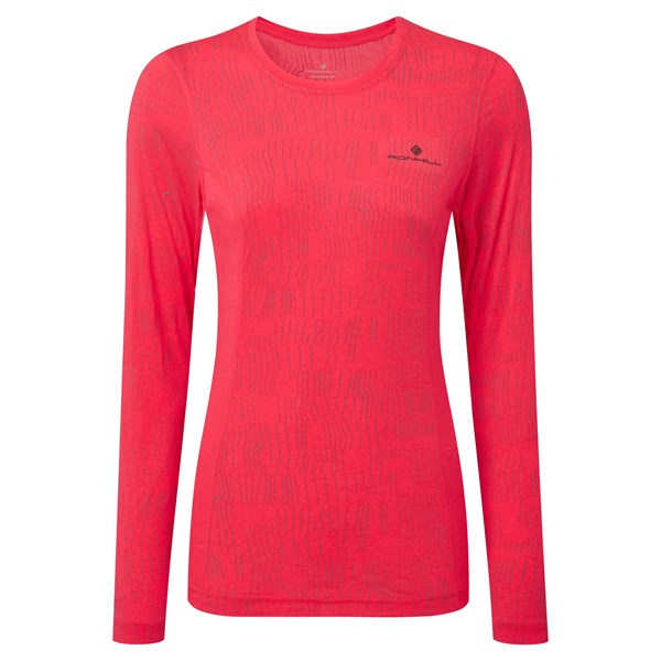 Ron Hill Women's Momentum Afterlight LS Tee
