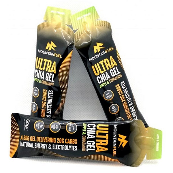 Mountain Fuel Ultra Chia Gel (Apple & Cinnamon)