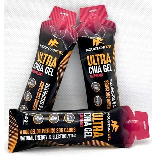 Mountain Fuel Ultra Chia Gel (Raspberry)