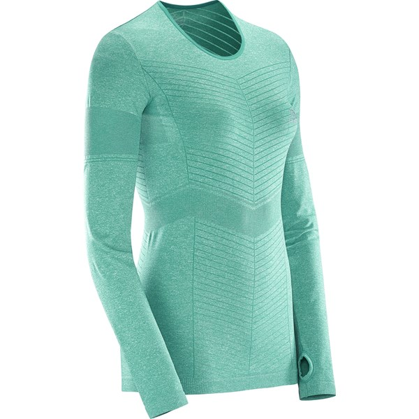 Salomon Women's Elavate Seamless LS Tee