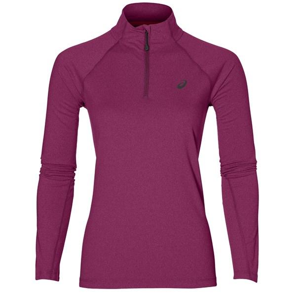 Asics Women's LS 1/2 Zip Jersey
