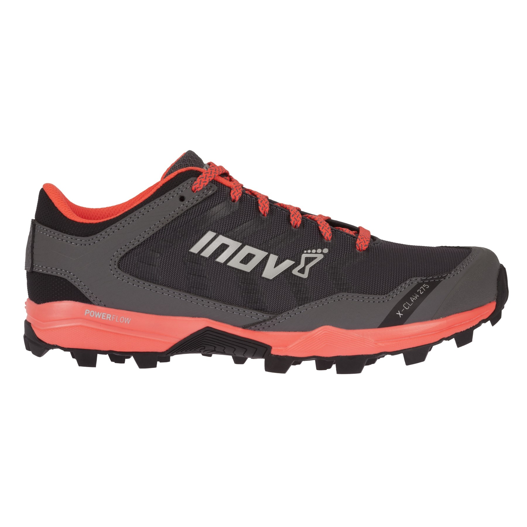 Inov8 Women's X-claw 275 Grey/Coral UK 5.5/EU 38,5