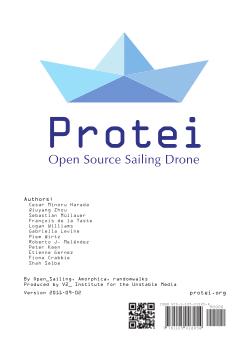 Protei_006 Handbook, Open Source Sailing Drone