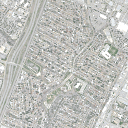 Aerial imagery object identification dataset for building and road