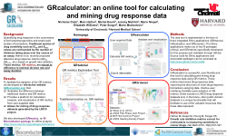 GRcalculator: an online tool for calculating and mining drug