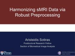 Harmonizing sMRI Data via Robust Preprocessing
