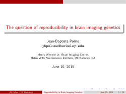 Reproducibility of Imaging Genetics Findings: Power, candidate genes and other issues
