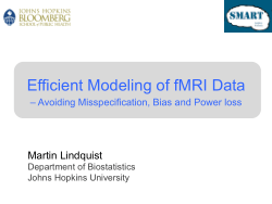 Efficient Modeling of fMRI Data
