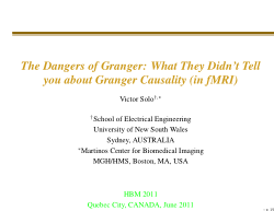 The Dangers of Granger: What They Didn't Tell you about Granger Causality (in fMRI)