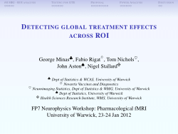 Detecting Global Treatment Effects Across ROI