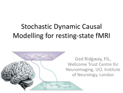 Stochastic Dynamic Causal Modelling for resting-state fMRI