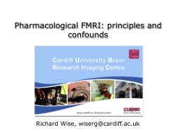 Pharmacological FMRI: principles and confounds