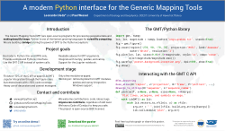 Poster: A modern Python interface for the Generic Mapping Tools on husqvarna tools, standard tools, amd tools, otc tools, universal tools, genius tools, bmw tools, jensen tools,