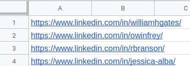 LinkedIn Profile Scraper | Phantombuster