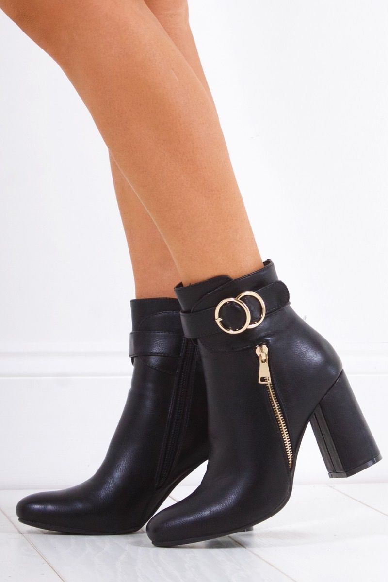 gold desire anklet boots img public toe in metallic harlee pointed rose ankle