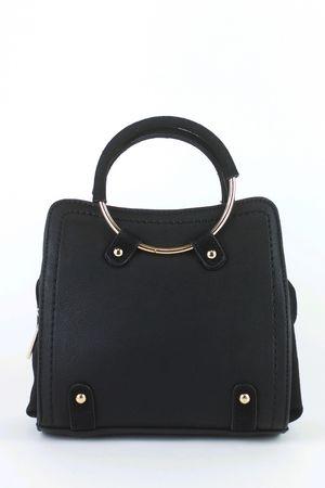 CARLA Black Shoulder Bag