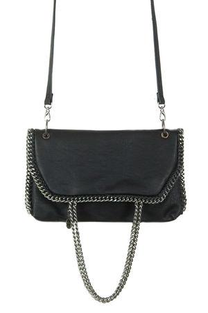 Alyssa Black Chain Crossbody Bag