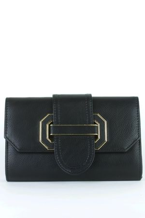MARNIE Black Clutch Bag