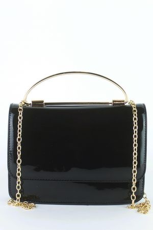 LOLA Black Patent Bag