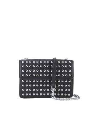 NIEVE Black  Stud Crossbody bag