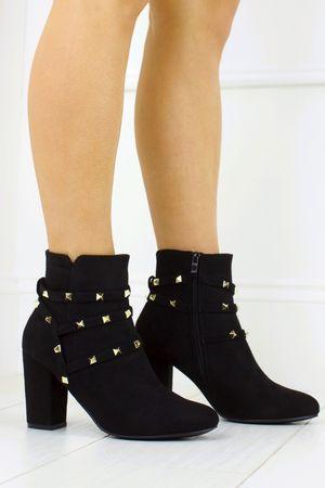TASHA Stud Ankle Boots