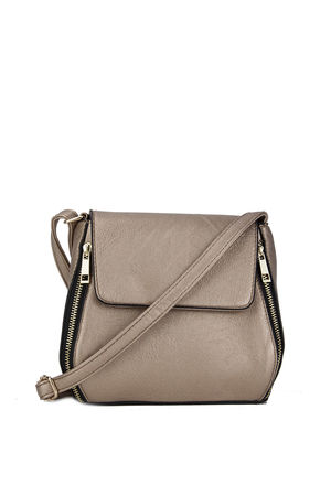 Bronze Crossbody Bag
