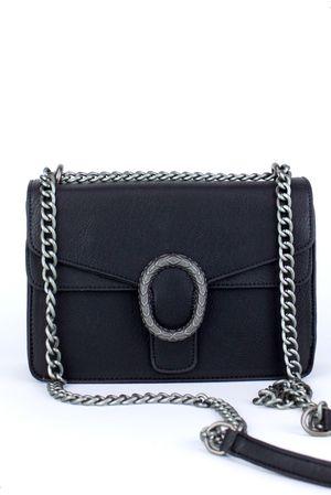 ELSA Black Cross Body Bag
