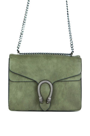 AVERY Khaki Shoulder Bag