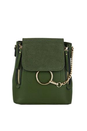 LEXI Khaki Chain Backpack