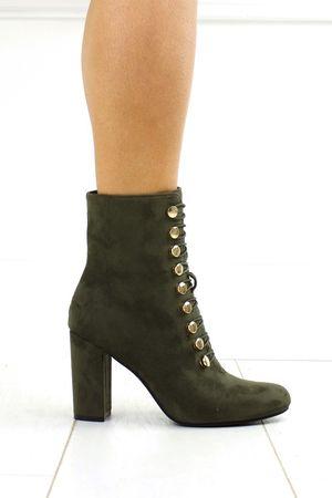SAMANTHA Khaki Ankle Boot