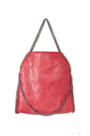 KIRA Red Chain Shopper Bag