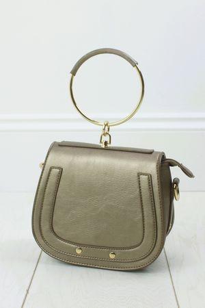 NILA Bronze Bracelet Shoulder Bag
