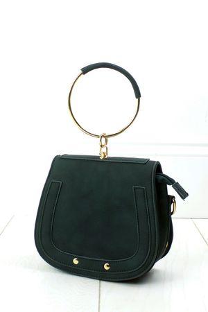 NILA Green Bracelet Shoulder Bag