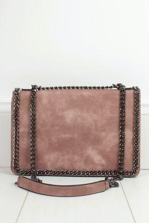 ROSIE Pink Chain Shoulder Bag