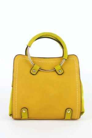 CARLA Mustard Shoulder Bag