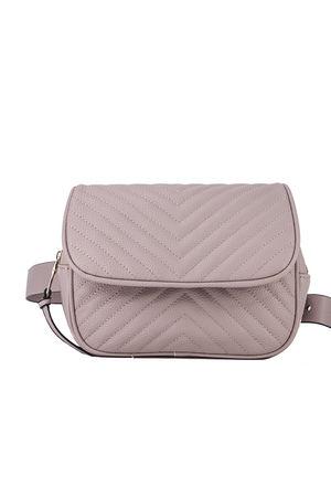 JESSICA Pink Quilted Belt Bag