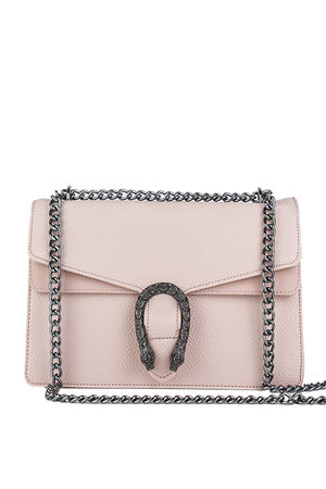 KAYLEIGH Pink Tiger Chain Shoulder Bag