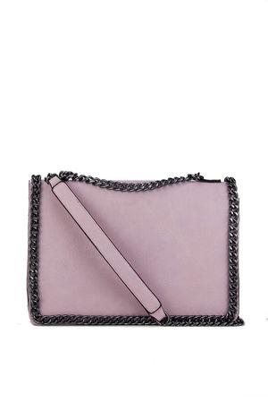 ROSIE Light Pink Chain Shoulder Bag
