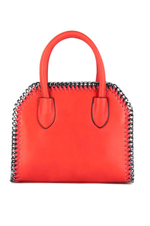 CALISTA Red Chain Tote Bag