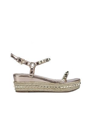 KRISTEN Rose Gold Flatform Sandals