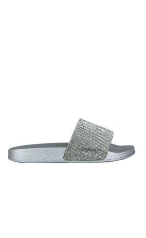 ELLIE Silver Diamante Slider