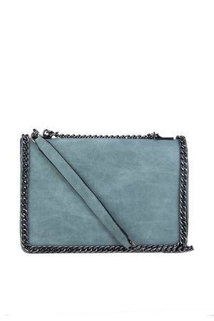 ROSIE Green Chain Shoulder Bag