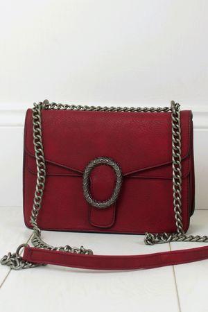 ELSA Burgundy Cross Body Bag