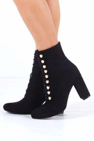 SAMANTHA Black Ankle Boot