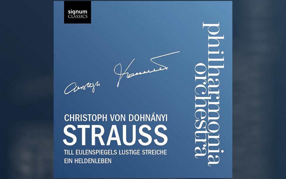 Strauss: Till Eulenspiegel Lustige Streiche & Ein Heldenleben CD cover