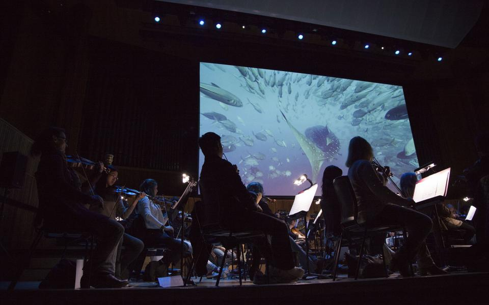 Blue Planet live in concert at Royal Festival Hall (2015)
