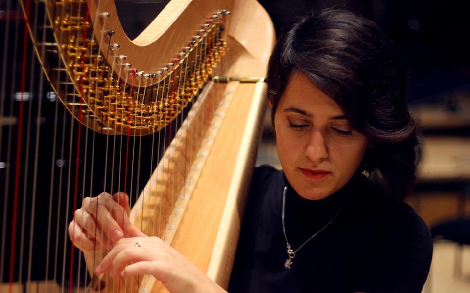 Photo of a member of the Philharmonia MMSF Instrumental Fellowship Programme