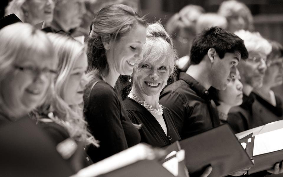 Photo of the Bach Choir