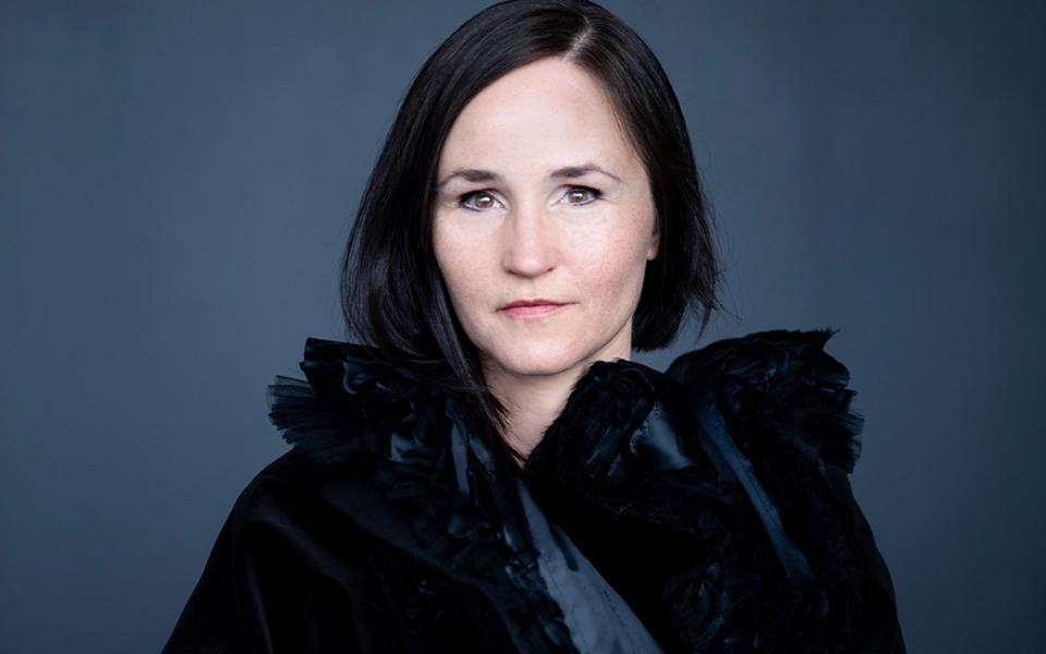 Photo of composer Anna Thorvaldsdottir