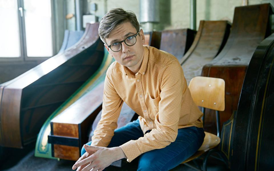 Photo of pianist Víkingur Ólafsson